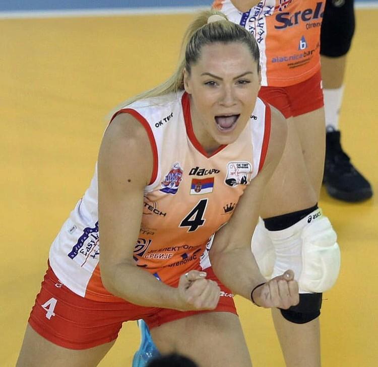 Сладжана становилась неоднократным чемпионом Сербии