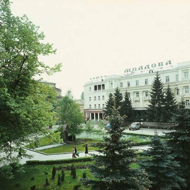 Гостиница «Молдова». Фото: «Кишиневцы»/facebook