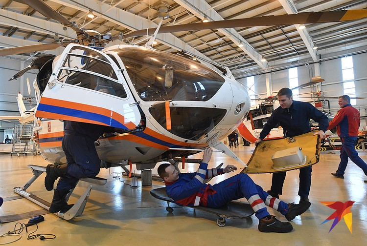 Будни «Московского авиационного центра» журналистам показали накануне Дня гражданской авиации, который отмечается 9 февраля.