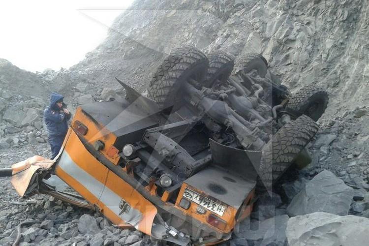 Водитель автобуса выжил и находится в больнице