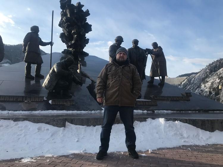 Министр природных ресурсов Хакасии Сергей Арехов.