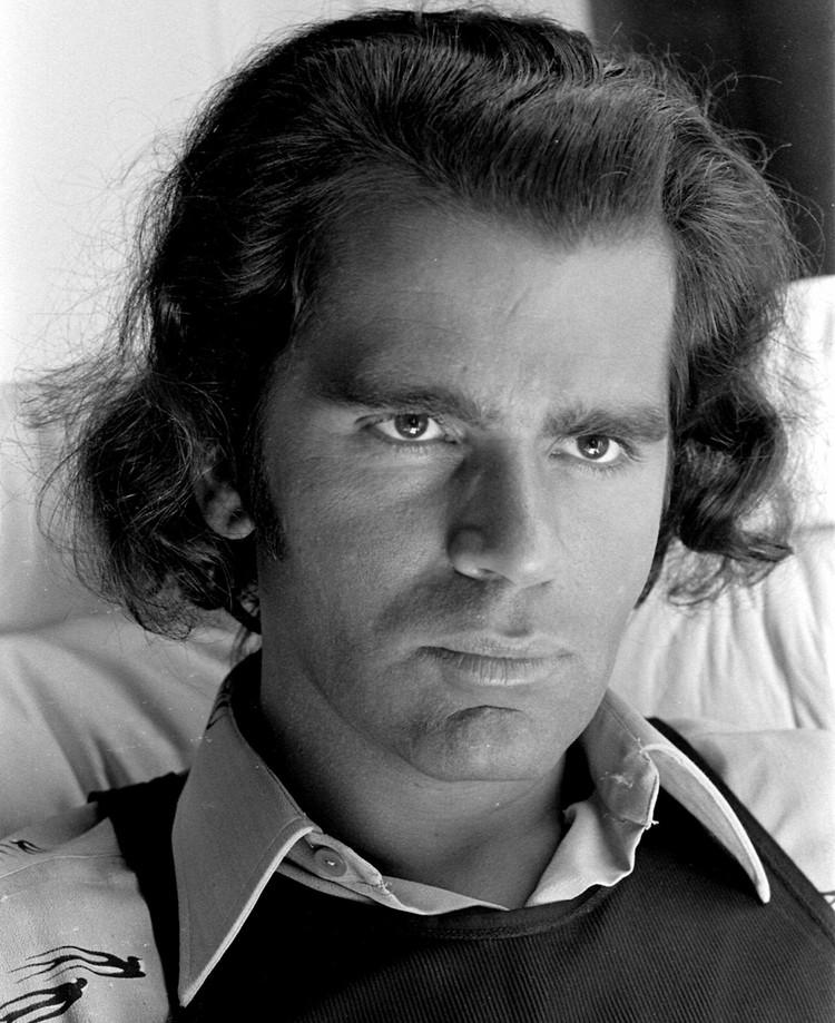 Карл Лагерфельд в 1970 году.