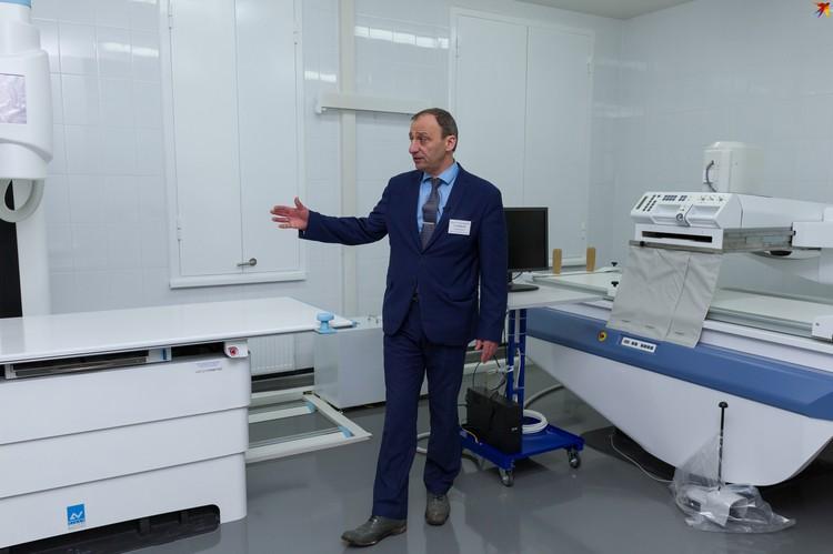 Поликлиника оснащена современным оборудованием