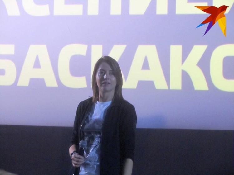 После показа зрители смогли пообщаться с молодым режиссером