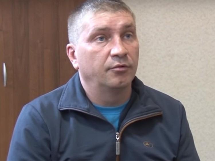 Дмитрий Долгополов на допросе. Фото: скриншот видео ФСБ