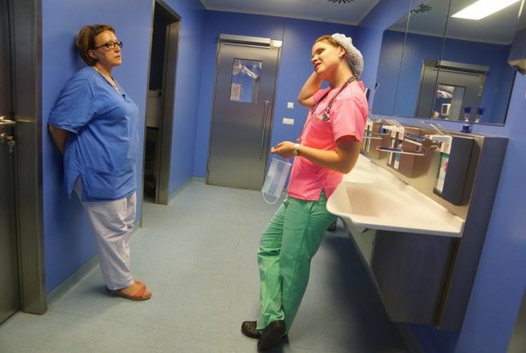 У сотрудниц больницы практически нет времени на отдых