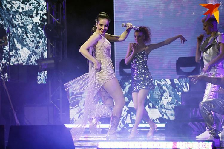 Прозвучали песни с альбомов Natalia Oreiro, Tu Veneno, Turmalina и из саундтрека к фильму «Джильда, я не жалею об этой любви», в котором Наталия Орейро сыграла главную роль.