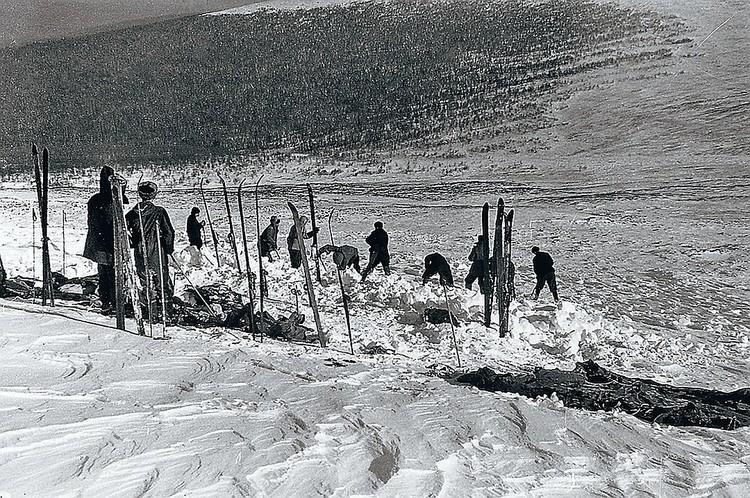 Поиски погибших туристов продолжались три месяца. ФОТО: Фонд памяти группы Дятлова