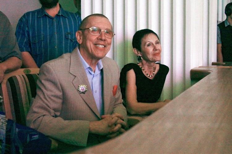 Валерий и Тамара Золотухины