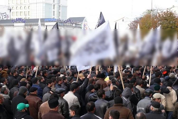 Митинг на площади Ленина в 2013 году. Фото: Крым.Комментарии