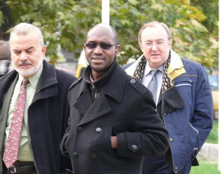 """Лидер ячейки """"хизбов"""" из Лондона прилетел в Симферополь. Фото: Крым.Комментарии"""