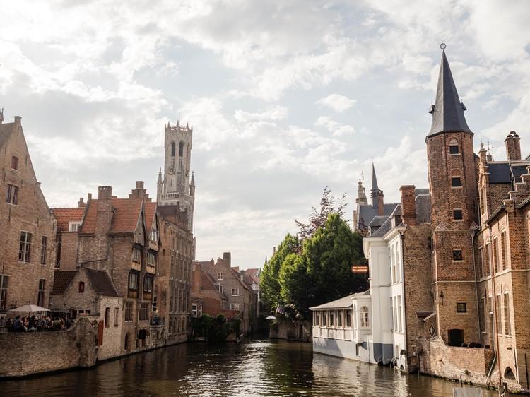 Средневековый Брюгге просто очень красив
