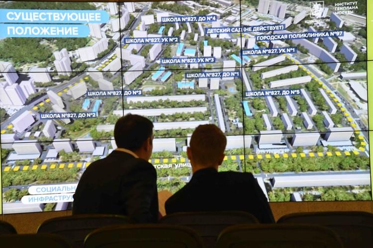 При проектировании кварталов реновации учитывается доступность инфраструктуры.