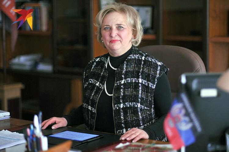 Ректор Светлана Беспалова.