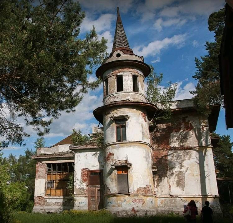 Усадьба Петра Севрюгова «Отрада», Кинешма. Фото GOOGLE