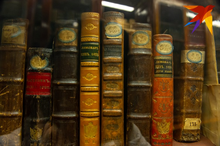 Гости смогли увидеть уникальные экземпляры книг.