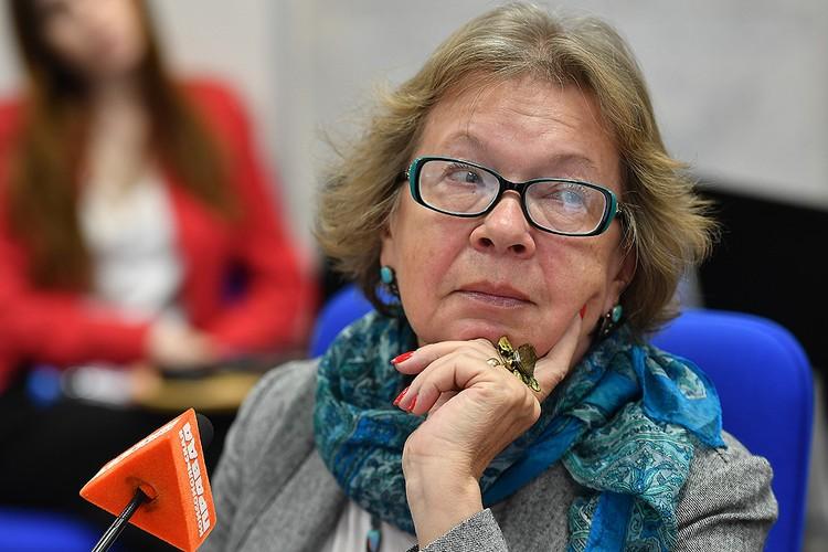 Президент Международной общественной организации Общества «Россия – Германия» Ольга Зиновьева.