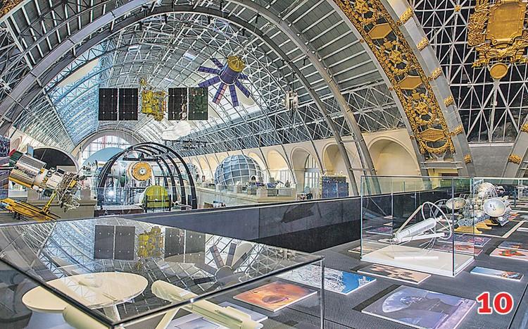 В «Космосе» нынешним летом откроется выставка «Часы космонавтов - время первых» и фотовыставка «Мир из космоса». Фото: vdnh.ru