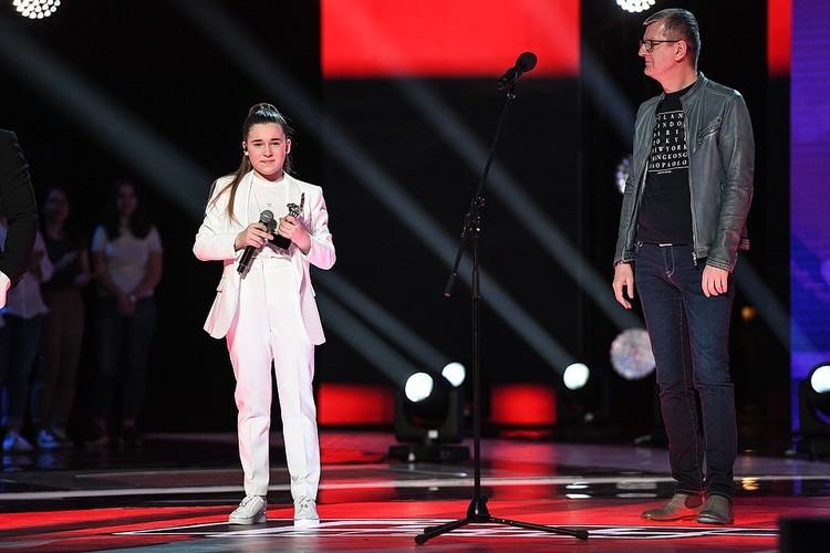 """Победительницей детского """"Голоса"""" стала дочка певицы Алсу Микелла. Фото: Максим Ли"""