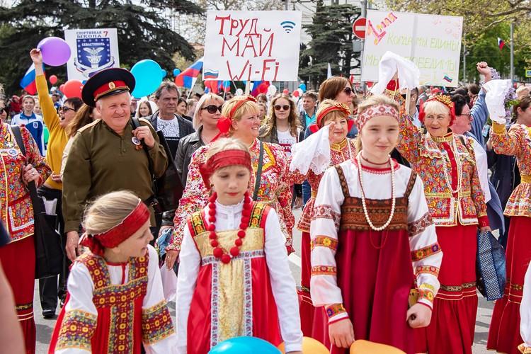 Севастополь в русском народном стиле
