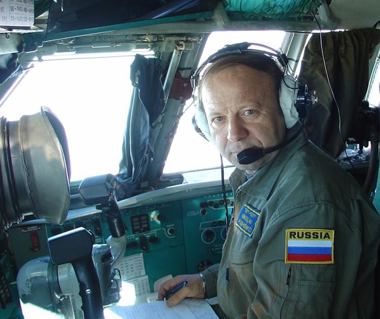 Заслуженный летчик-испытатель России Николай Пушенко