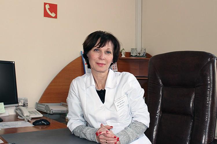 Инна Рыжененкова. Фото Олег БЕЛОВ.