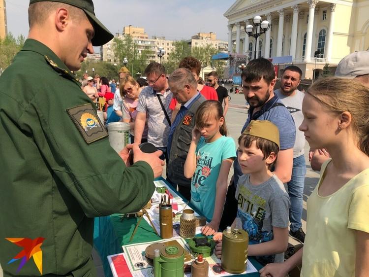 На площади 400-летия Тюмени