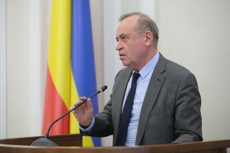 Сергей Сидаш в 2017 году заработал 3,5 млн рублей. Фото: сайт правительства РО