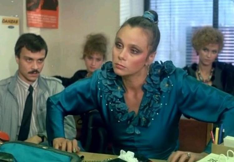 """В """"Интердевочке"""" актриса сыграла проститутку Зину. Кадр из фильма."""