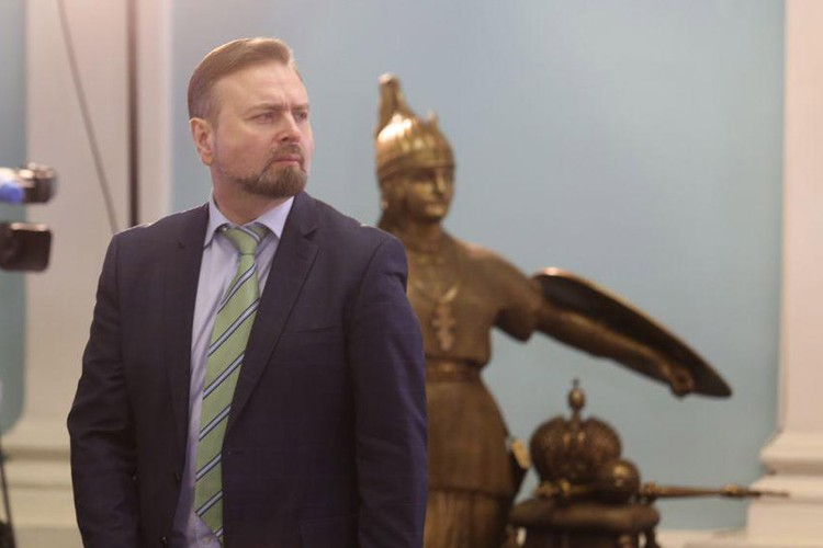 Вице-губернатор Челябинской области Вадим Евдокимов.