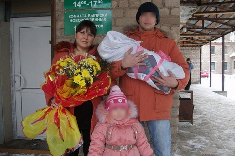 Луиза исчезла вместе с мужем и маленькими дочками