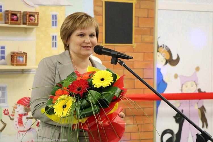 Елена Сорокина. Фото: пресс-служба администрации Рязани.