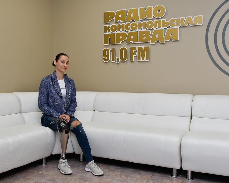 "Маша в гостях у радио ""КП""-Краснодар"