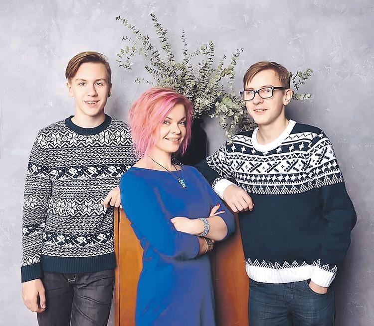 У Натальи Вяль от Краско двое сыновей - 16-летний Иван и 15-летний Федор. Фото: instagram.com/nataliavyal