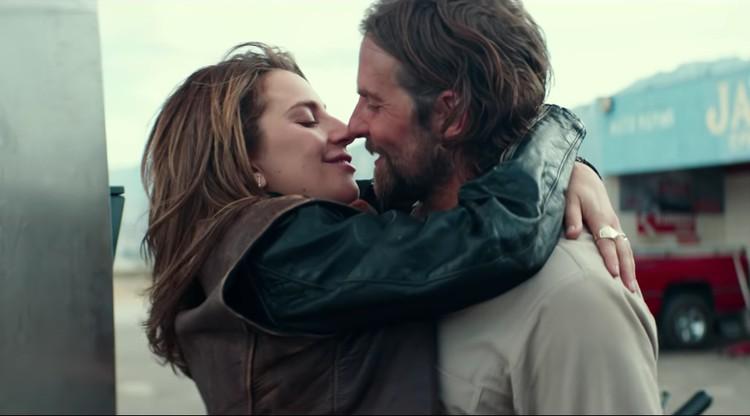 """Во время съемок фильма """"Звезда родилась"""" Брэдли слишком увлекся своей партнершей по съемкам Леди Гагой. Фото: кадр фильма."""