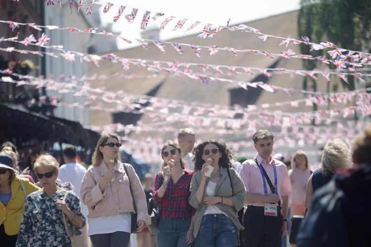 Фестиваль британской культуры.