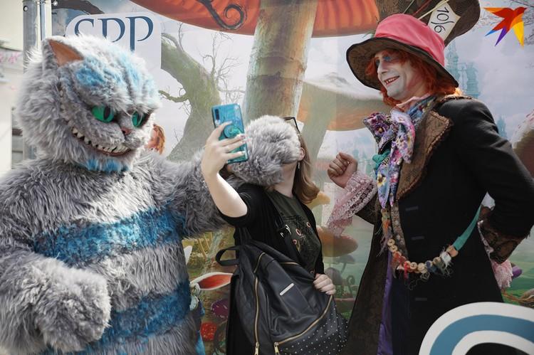 Фестиваль британской культуры в Минске.