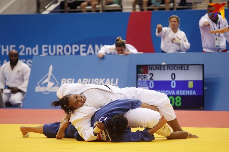 Португалии стала серебряным призером по дзюдо.