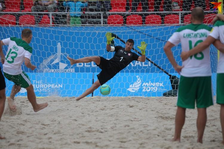 Сборная Беларуси обыграла Швейцарию в серии пенальти.