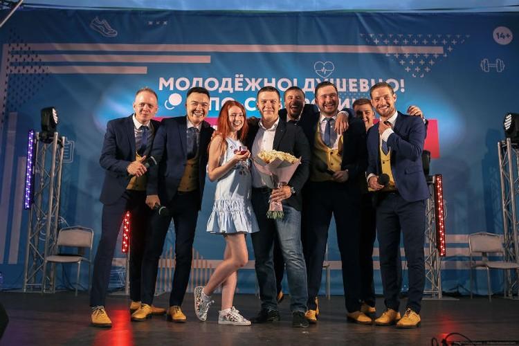 Снимок на память Фото: vk.com/krasnoyarskrf