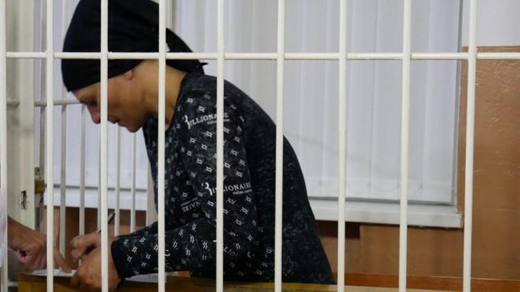 Мака Ганиева в суде.