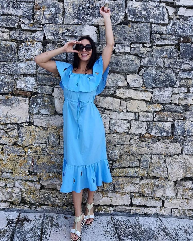 Василиса знает толк в красивой одежде, особенно в платьях. Фото: Инстаграм Василисы Марзалюк