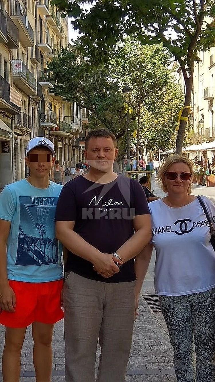 В Израиль Ольга улетела с мужем и сыном. Фото: предоставлено потерпевшими