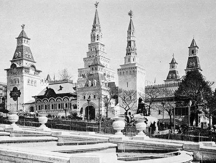 Так выглядел Российский павильон в Париже.
