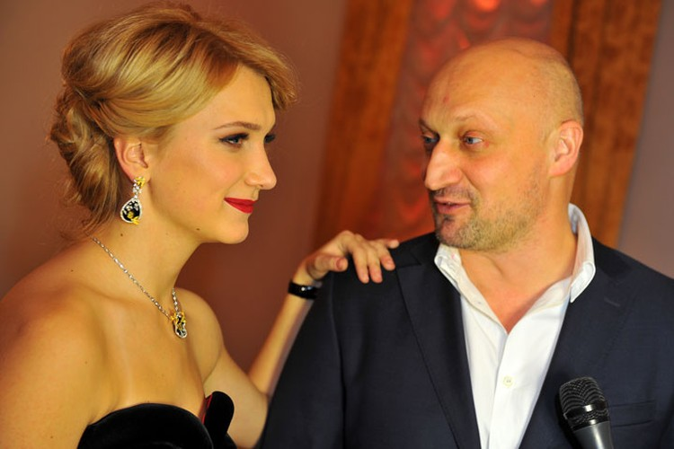 Дочь Марии Порошиной и Гоши Куценко Полина.