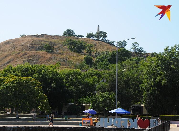 Гора Митридат – место основания Керчи более 2500 лет назад