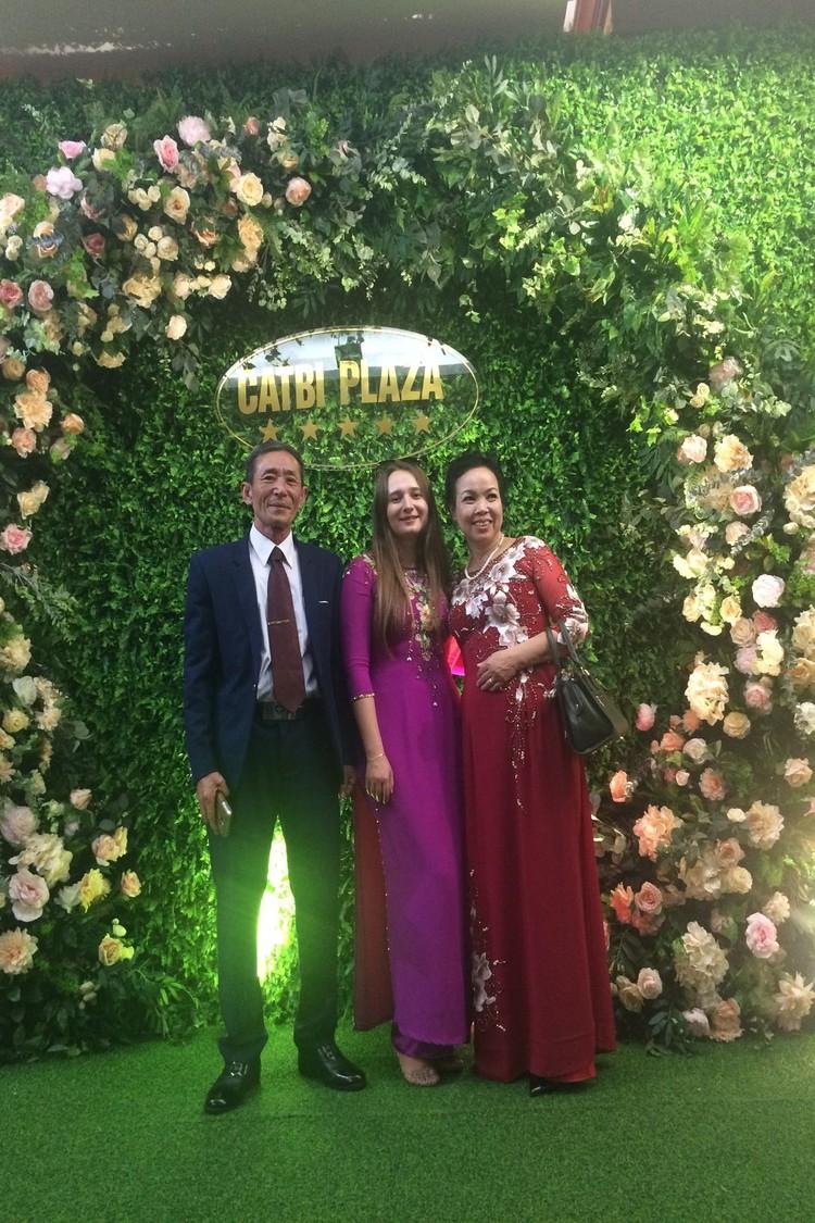 Ане даже удалось попасть на свадьбу во Вьетнаме. Фото: личный архив