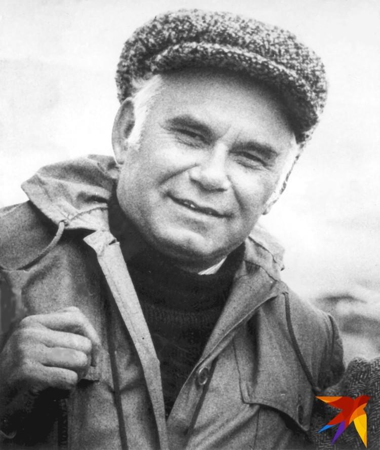 Портрет Василия Пескова из его личной коллекции.