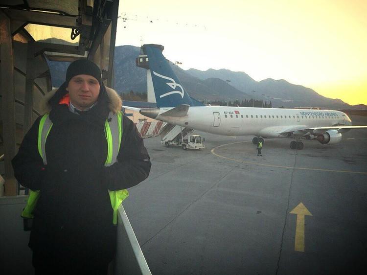 Старший бортпроводник Дмитрий Ивлицкий. Фото: соцсети