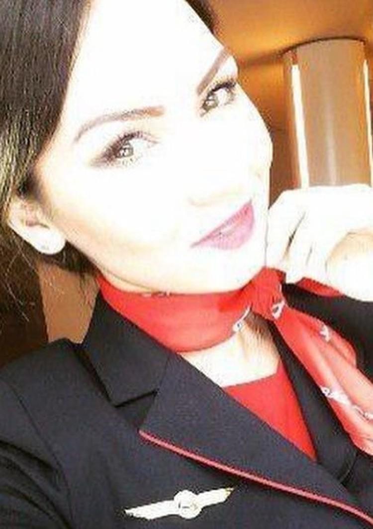 Надежда Вершинина, бортпроводница. Фото: соцсети